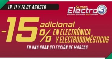 Super Electro 3 vuelve a El Corte Inglés el 10, 11 y 12 de agosto