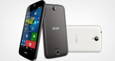 Acer presenta la serie de móviles Liquid Z630/530 con Windows 10 y Android