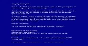 Falsos pantallazos azules en Windows, un nuevo intento de estafa
