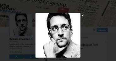 Edward Snowden aterriza en Twitter: @snowden