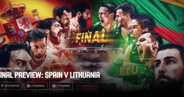 Cómo ver España contra Lituania del Eurobasket online