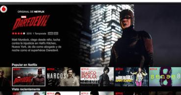 Netflix llega a España de la mano de Vodafone