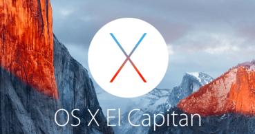 ¿Qué es la flecha grande que aparece en OS X El Capitán?