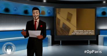 Anonymous declara la guerra por los atentados en París