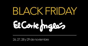 El Corte Inglés celebra el Black Friday desde el 25 al 29