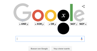 Google recuerda a George Boole con un Doodle