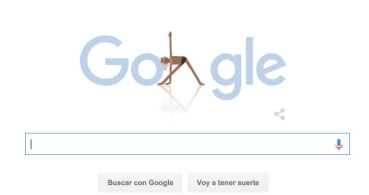 BKS Iyengar protagoniza el Doodle de Google