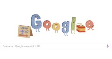 Las Elecciones Generales 2015 llegan a Google con un Doodle