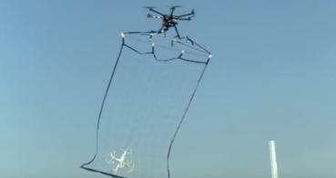 Drones policía para atrapar a los drones malos en Japón