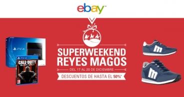 eBay Superweekend, las rebajas de eBay previas a la Navidad
