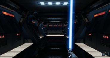 Convierte tu móvil en un sable láser de Star Wars