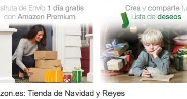 Amazon lanza ofertas de última hora en la tienda de Navidad