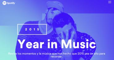 Spotify Year in Music: recuerda la música de tu año 2015