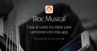 Apple lanza Bloc Musical, una app para componer música