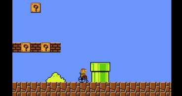 Un vídeo de Mario Bros en silla de ruedas se hace viral