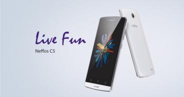 TP-Link lanza su primer smartphone: Neffos C5