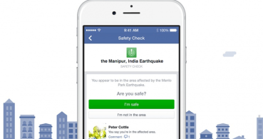 Facebook activa Safety Check en el terremoto de India