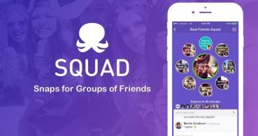 Squad, el nuevo Facebook, WhatsApp y Snapchat