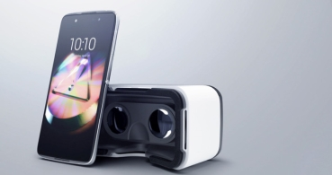 Alcatel Idol 4, un smartphone en vidrio y metal con gafas de realidad virtual