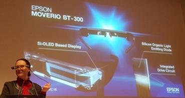 Moverio BT-300, las nuevas gafas inteligentes de Epson