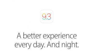 iOS 9.3 ya disponible para descargar, conoce sus novedades