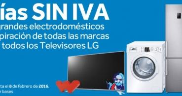 Worten lanza el Día sin IVA en LG