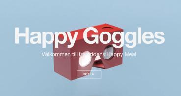Happy Goggles, las gafas de realidad virtual de McDonald's