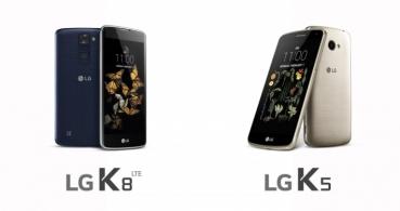 LG K5 y LG K8 son oficiales, conocemos los detalles