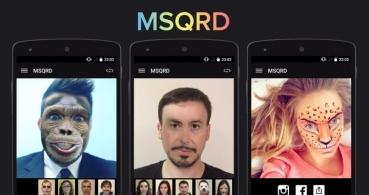 MSQRD, la app de máscaras, llega a Android