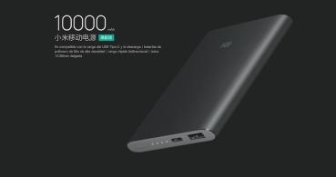 Xiaomi lanza una batería de 10.000mAh y USB Type-C