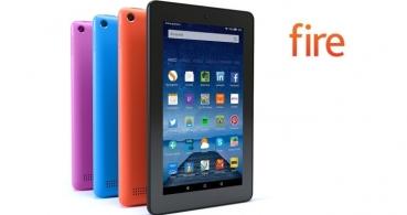 La tablet Amazon Fire se actualiza con más almacenamiento y nuevos colores
