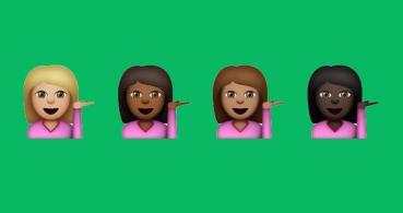 ¿Qué significa el emoji de la chica con la mano levantada?