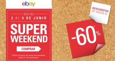 eBay Superweekend, las mejores ofertas de tecnología del 2 al 5 de junio