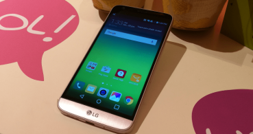 LG G5 en color rosa, disponible con Orange