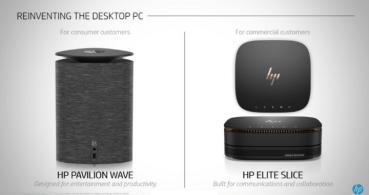 HP Pavilion Wave y HP Elite Slice, los nuevos ordenadores de HP