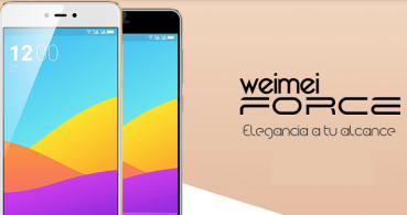 Weimei Force, un gama media con pantalla 2.5D