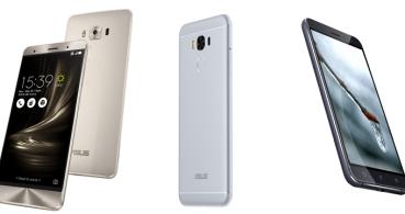 Asus ZenFone 3, ZenFone 3 Deluxe y ZenFone 3 Max llegan a España