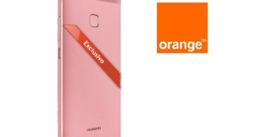 Huawei P9 en color rosa, ya con Orange