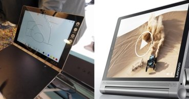 Yoga Book y Yoga Tab 3 Plus, las nuevas tablet de Lenovo con Windows y Android