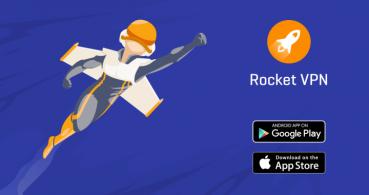 Rocket VPN, navega de forma privada y accede a contenido de cualquier país