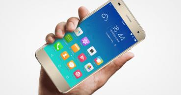UHANS H5000, un smartphone compacto con 5.000 mAh de batería