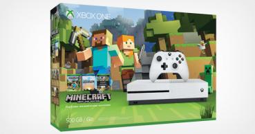 Microsoft saca un pack que une Minecraft y la nueva Xbox One S