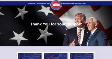 Donald Trump ya tiene web oficial como presidente