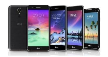 LG presenta los Stylus 3, K3, K4, K8 y K10 de 2017