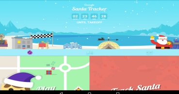 Sigue a Papá Noel, la app de Google con minijuegos navideños