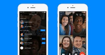 Facebook lanza las videollamadas en grupo