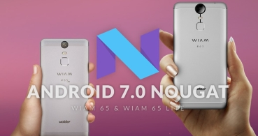 Wolder Wiam 65 y Wiam 65 Lite se actualizan a Android 7 Nougat