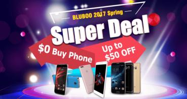 Oferta: consigue un smartphone de Bluboo con descuento, o gratis en su sorteo
