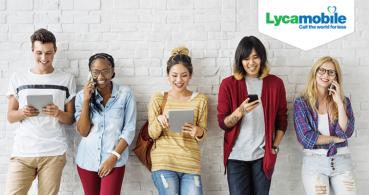Lycamobile ofrece 20 GB y llamadas ilimitadas por 15 euros al mes
