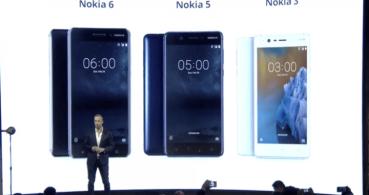 Nokia 3, 5 y 6, los nuevos smartphones de Nokia